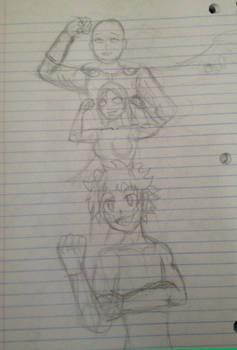 Saitama, Empowered and Deku