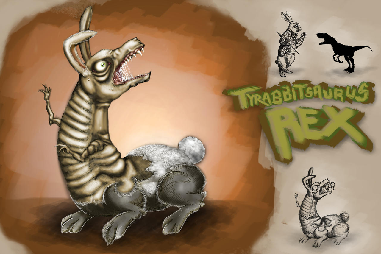 SPLICE Tyrabbitsaurus Rex by jKendrick