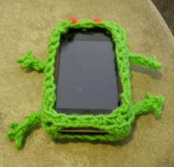 Crochet--iSlug iPhone Skin by Mira-Kajihiko