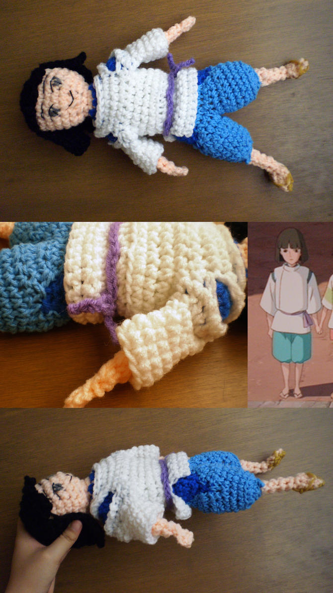 Crochet -- Haku by Mira-Kajihiko on DeviantArt