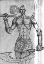 Khopesh warrior