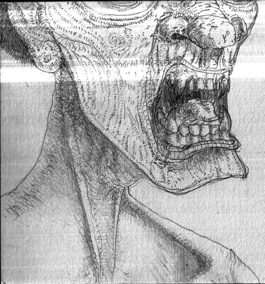 Ugly mouth by Adrian-Bogdanov