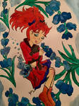 Mary and the flower witch by Jillianbeeler