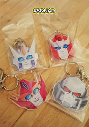 MTMTE Keychains