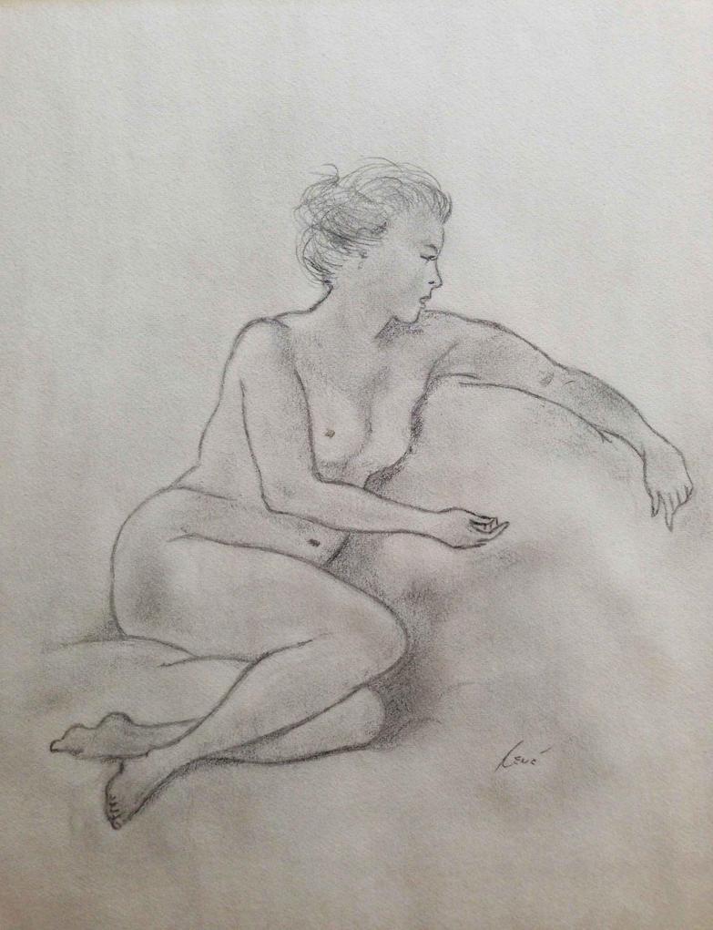 Nude - Life Drawing Class by kaze-ranna