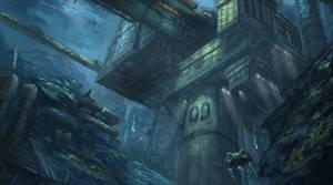 Underwater Mining Rig