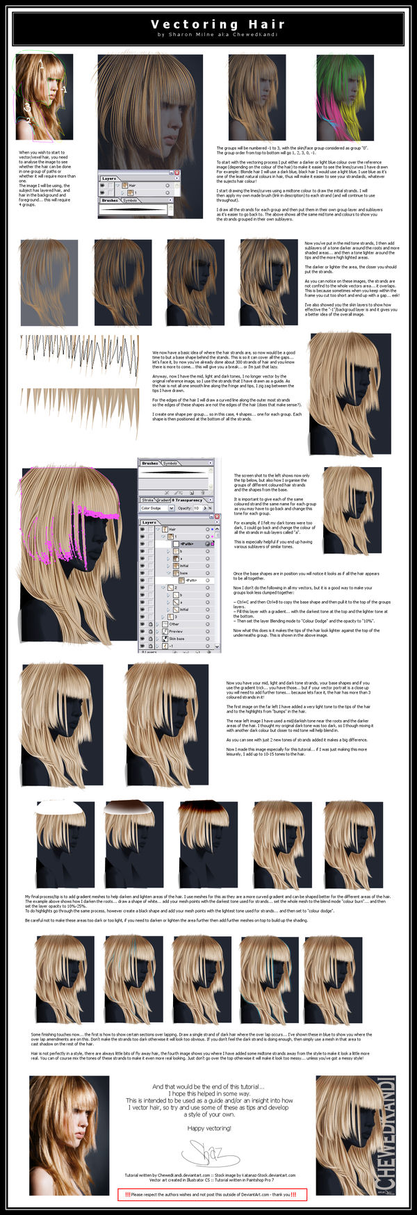 Vectoring Hair