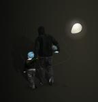Father and Son by ChewedKandi