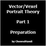 Vector Vexel Portrait Theory 1