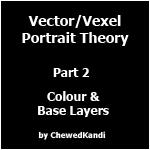 Vector Vexel Portrait Theory 2