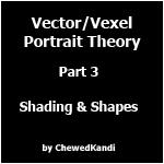 Vector Vexel Portrait Theory 3