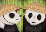 Kung Fu Panda Diptych