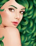 Green by ChewedKandi