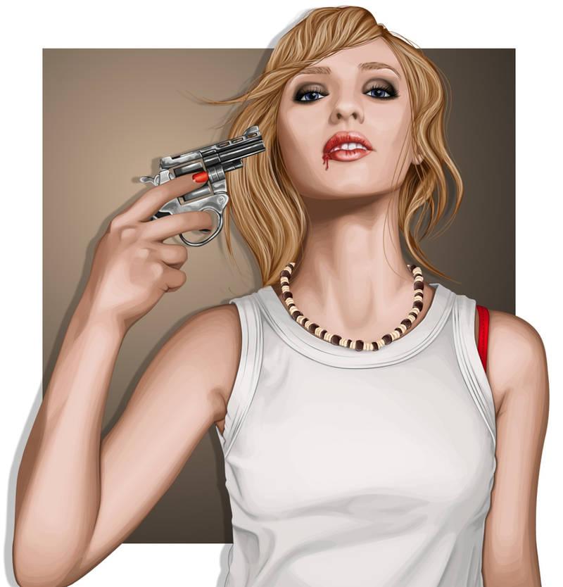 Suicide Blonde by ChewedKandi