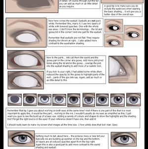 Working on the eyes by ChewedKandi