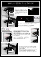 Vectored Glitter-Dots Tutorial by ChewedKandi