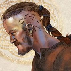 Ragnar Lothbrok by fresco-child