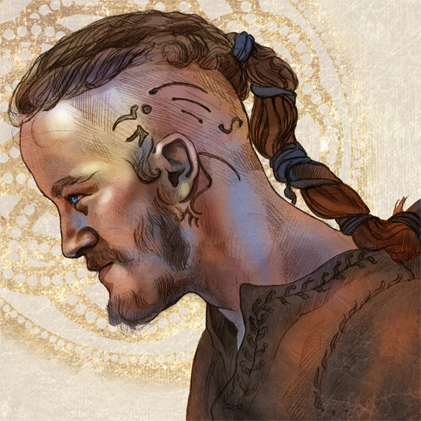 Ragnar Lothbrok by fresco-child