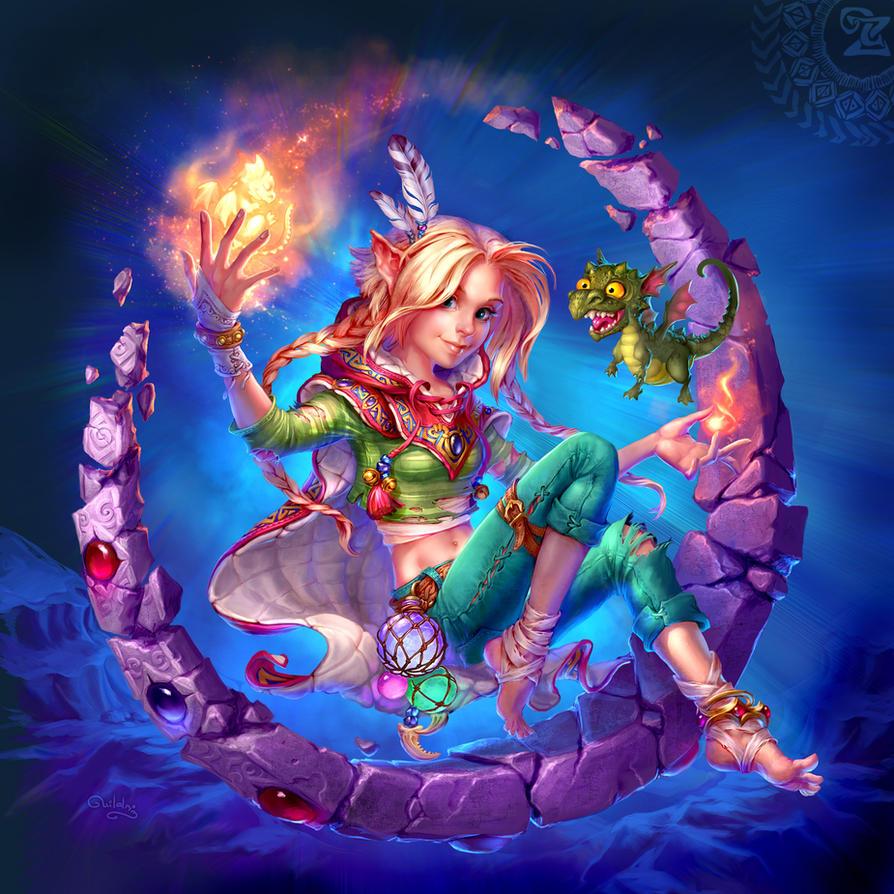 Dragon's birth by uildrim