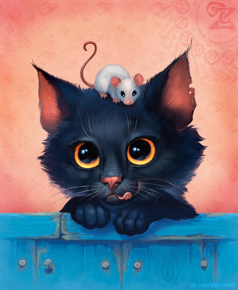 Meow-meow by uildrim