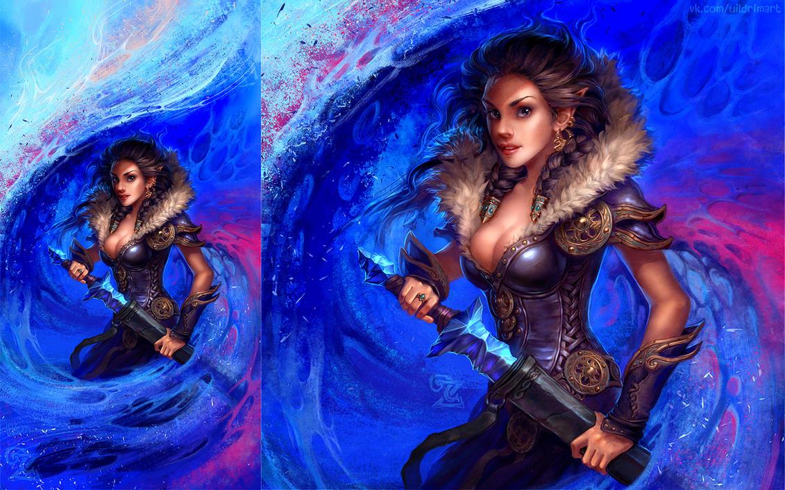 Ice Witch by uildrim