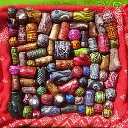 Handmade beads collection
