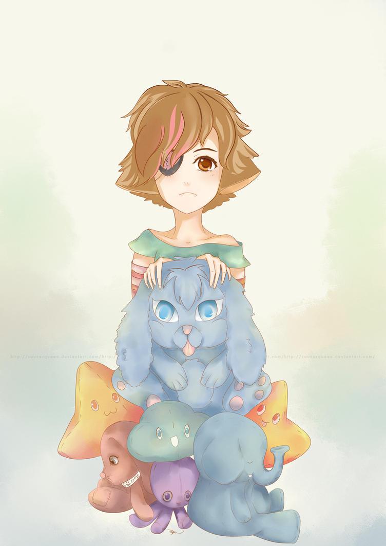 Beloved Stuffed babies by SaucerQueen