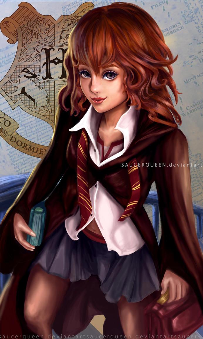 Hermione by SaucerQueen