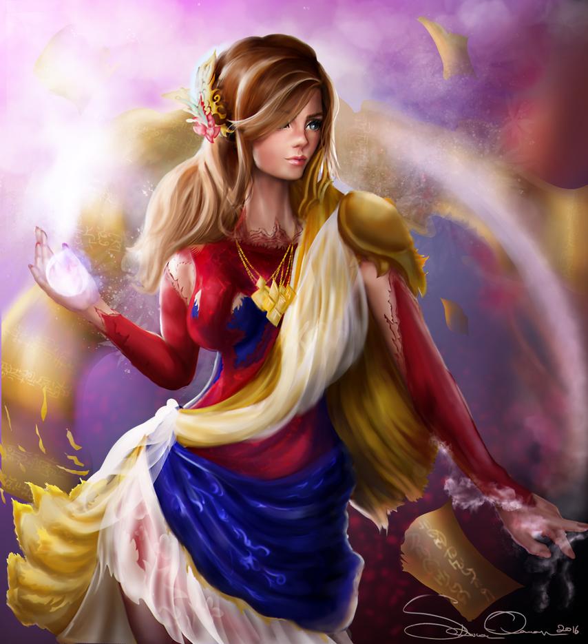 sorceress by SaucerQueen