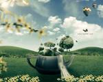 Teapot - Free PSD