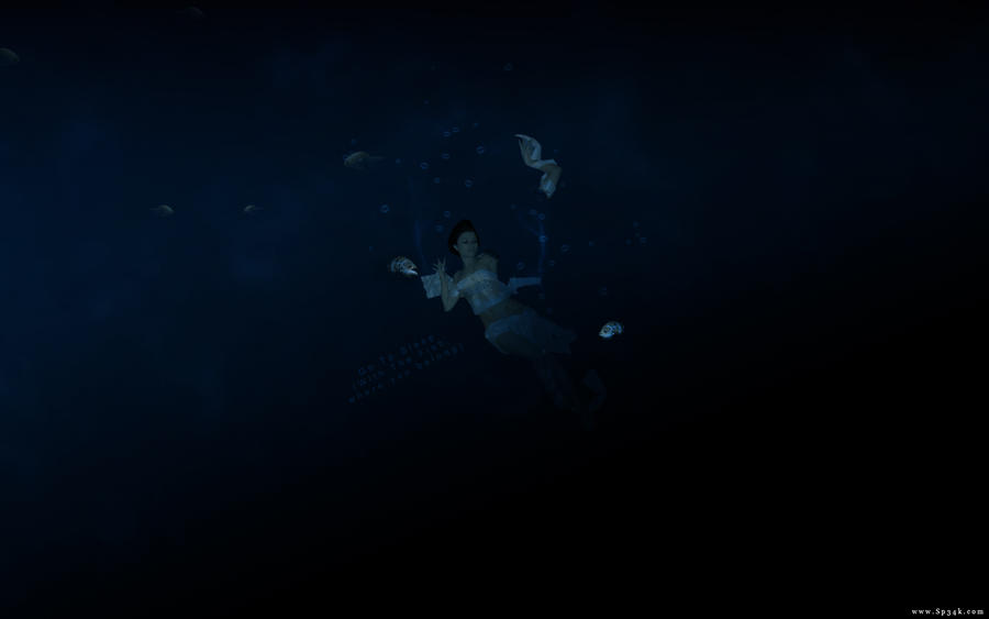Drowning by 5p34k