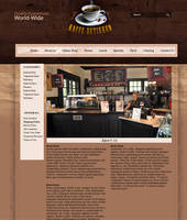 CoffeeShop - Info Page