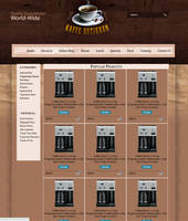 CoffeeShop - Store Page