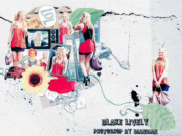 Blake Lively No.6 by O-V-V-O