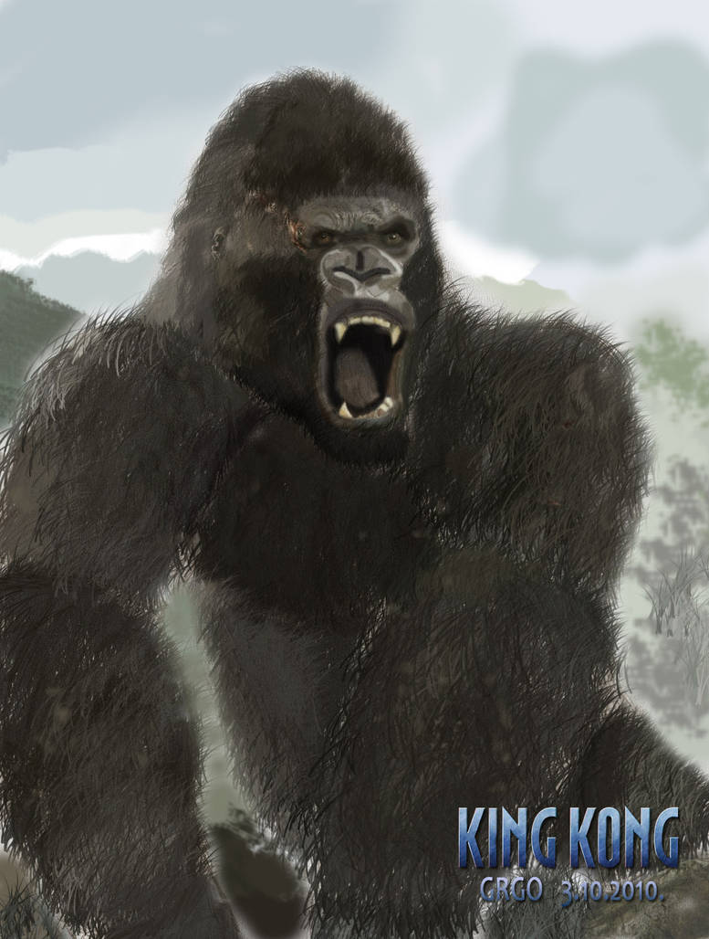 King kong 2005 by grgo1408 on deviantart - King kong 2005 hd wallpapers ...