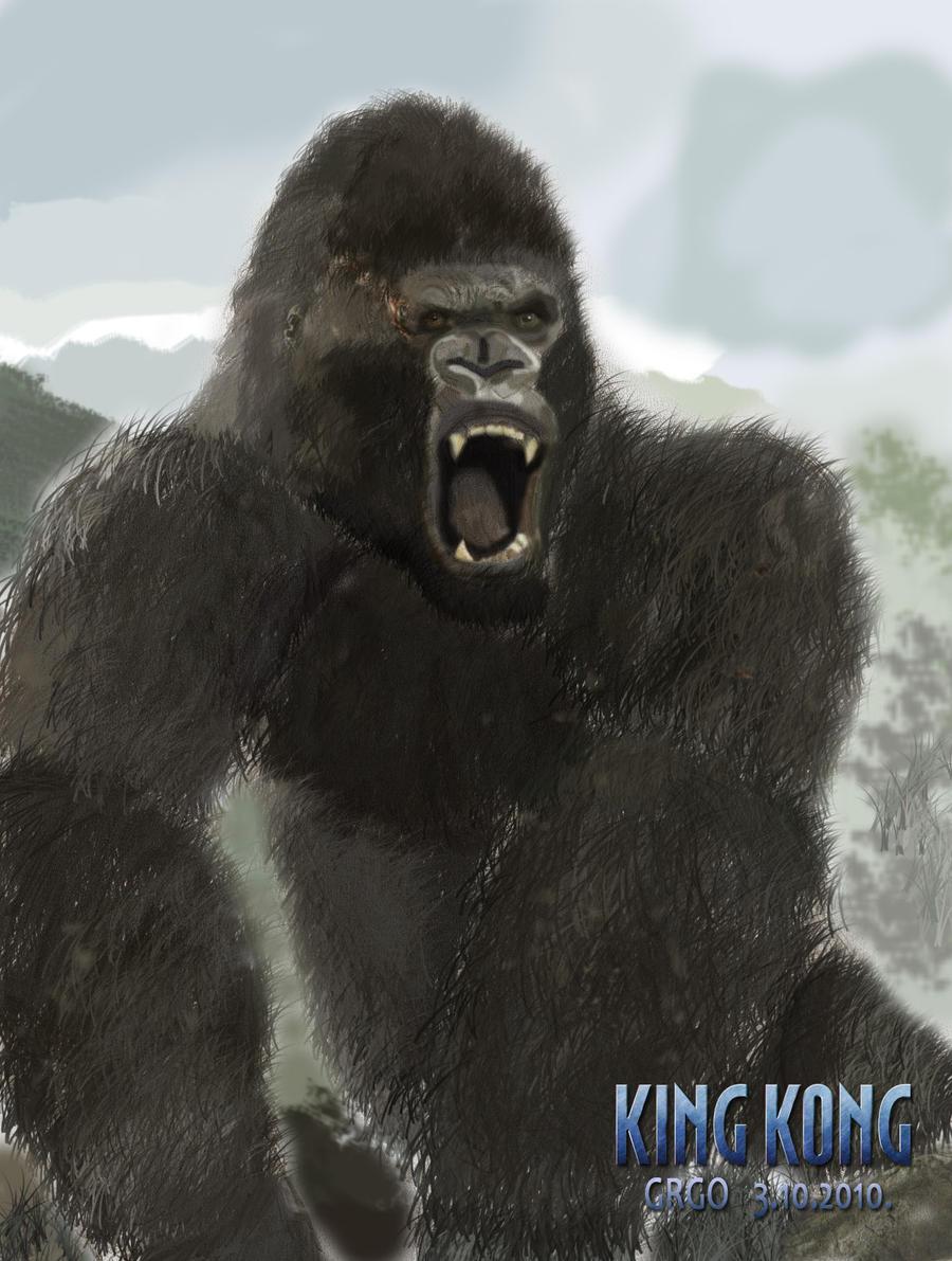 King Kong 2005 By Grgo1408 On Deviantart