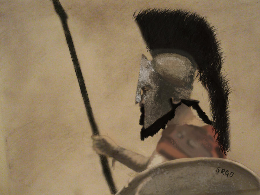 Art Leonidas_300_movie_by_grgo1408