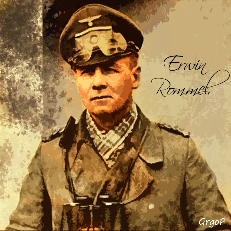 erwin rommel the desert fox An eyewitness account of the forced suicide of field marshall erwin rommel world war ii the beginning of world war ii, 1939  rommel in the african desert, 1941:.