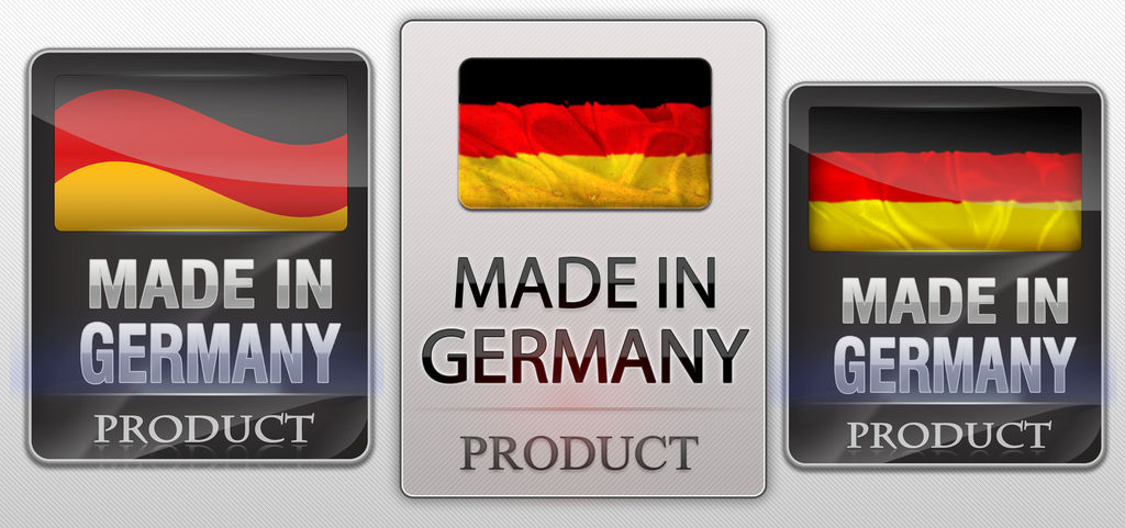 Made in Germany Logo - Different Variations