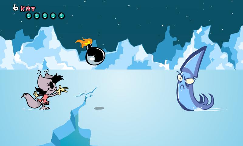 KAT VS ICE SQUID by JustinDurden