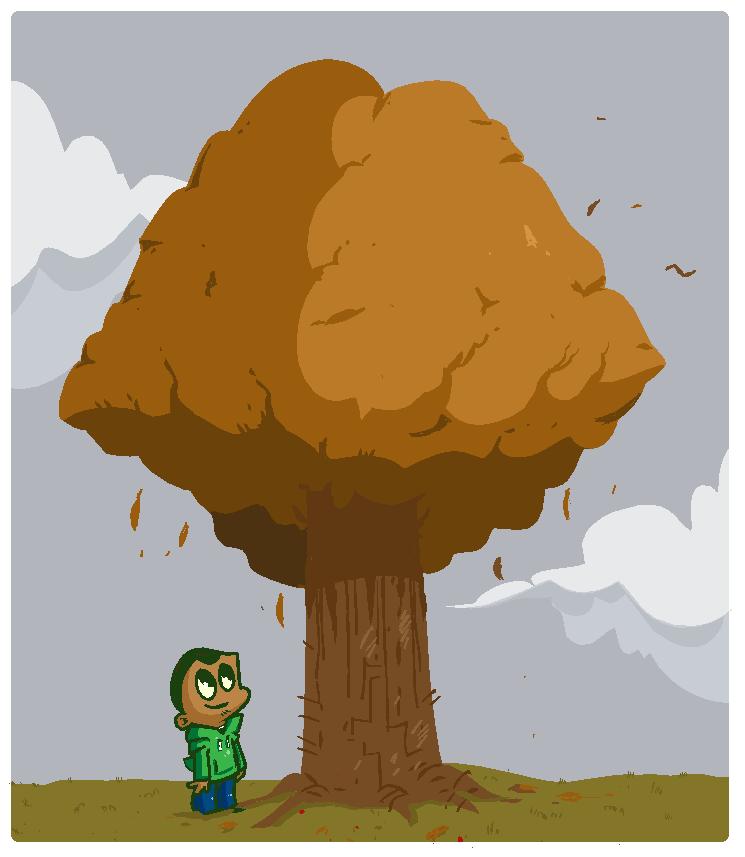 that ol' tree by JustinDurden
