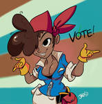 Vote for Delicious Brown Roxie.