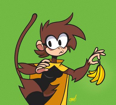 Monkie w/ Banans