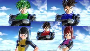 Power Rangers Time Patrol (first team)