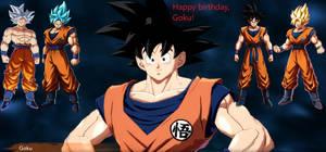 Goku's birthday