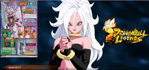 Android 21 (Good) is coming to Legends