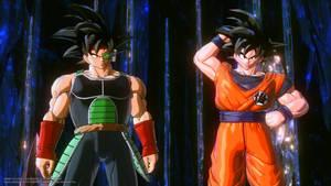 Goku and Bardock