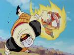 Goku (Super Saiyan) vs. Android 19