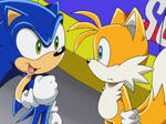 Sonic and Tails (Sonic X)