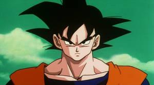 Goku's serious face 02